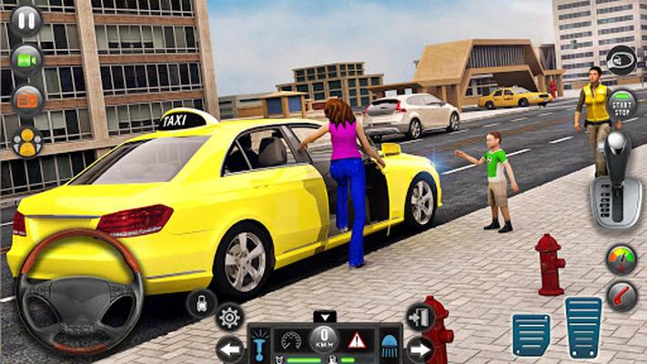 Image 13 of Taxi car simulation car games free games