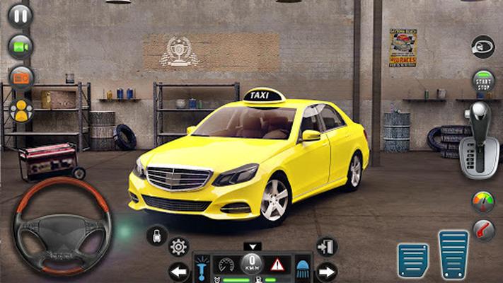 Image 14 of Taxi car simulation car games free games