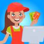Supermarket Cashier - Cash Register & Money Game