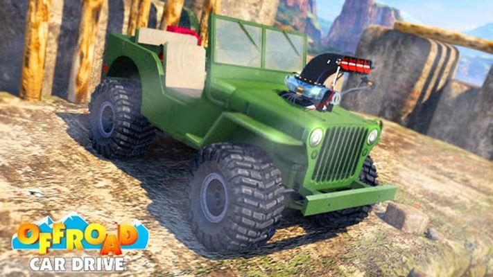 Offroad Car Drive - Mega Ramp & Obstacles screenshot apk 0