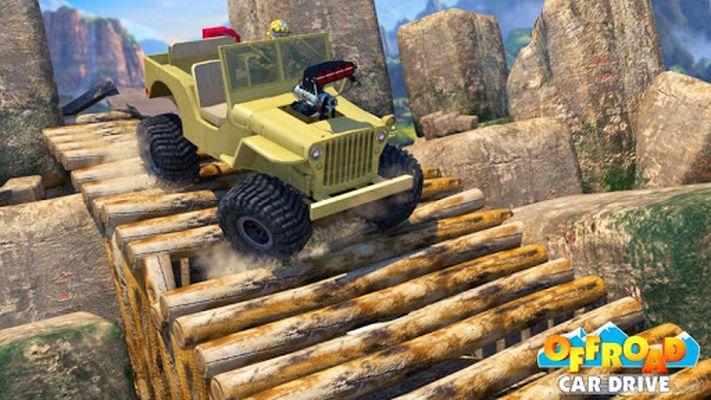 Offroad Car Drive - Mega Ramp & Obstacles screenshot apk 3