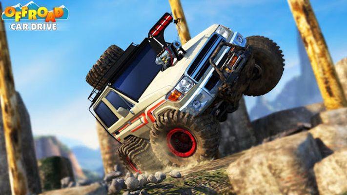 Offroad Car Drive - Mega Ramp & Obstacles screenshot apk 2