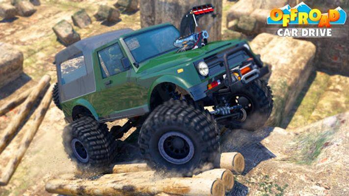 Offroad Car Drive - Mega Ramp & Obstacles screenshot apk 1