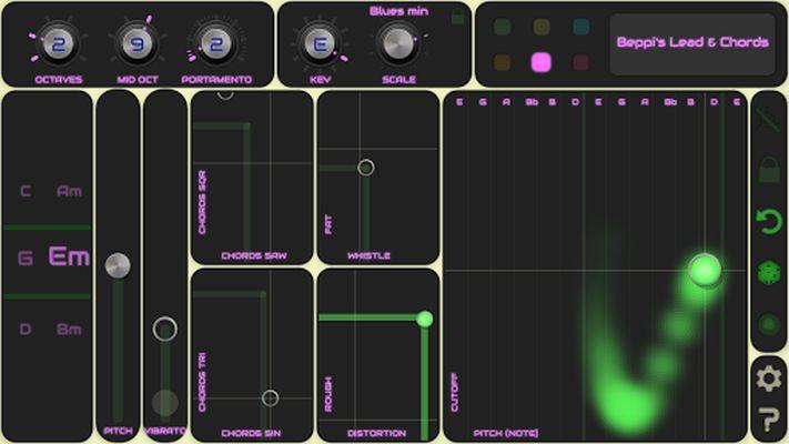 Image 5 of QiBrd: Free virtual analog synthesizer