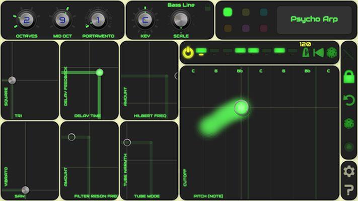 Image 3 of QiBrd: Free virtual analog synthesizer