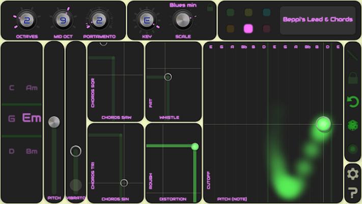 Image 18 of QiBrd: Free virtual analog synthesizer