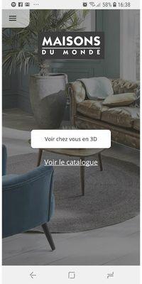 Image 1 of Maisons du Monde 3D at home