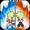 Power Fighters Warrior: Super saiyan Tenkai Buko  APK