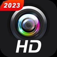 Icono de Cámara profesional HD con cámara de belleza
