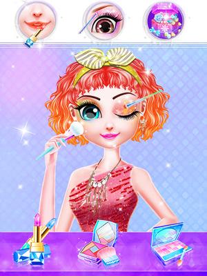Image 14 of Fashion Celebrity Hair Salon: Makeup And Dress