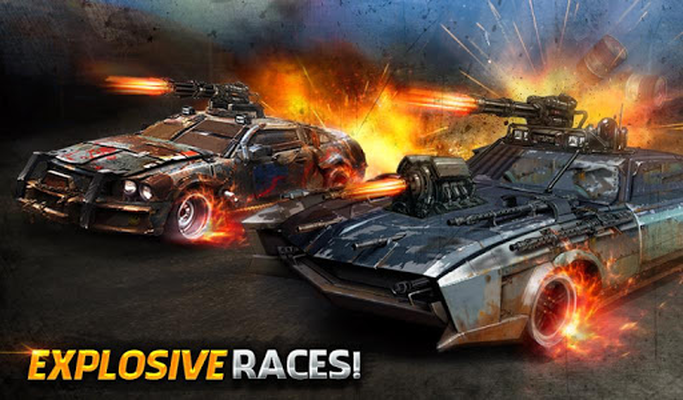 Image 12 of angry rival traffic car death race