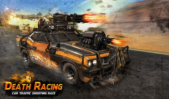 Image of angry rival traffic car death race