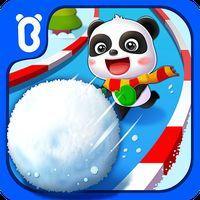 Kleiner Pandas Winter-Wunderland Icon