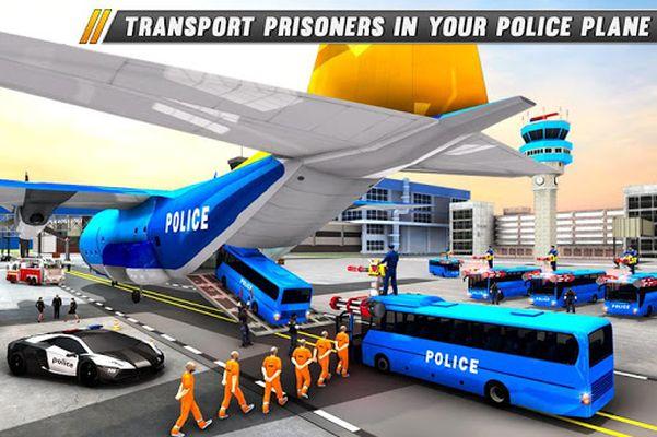 Image of Police Bus Shooting - Police Plane