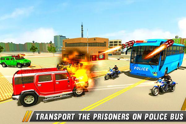 Image 2 of Police Bus Shooting - Police Plane