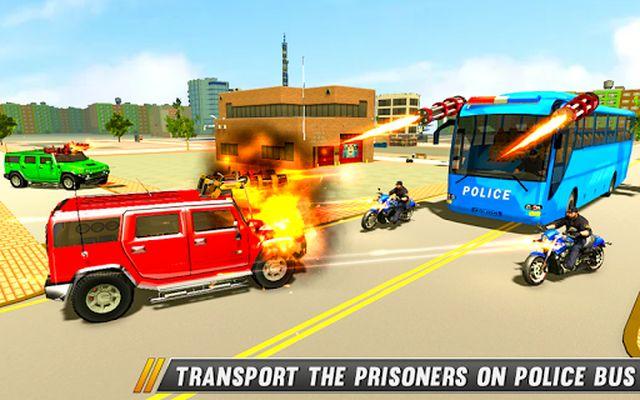 Image 7 of Police Bus Shooting - Police Plane