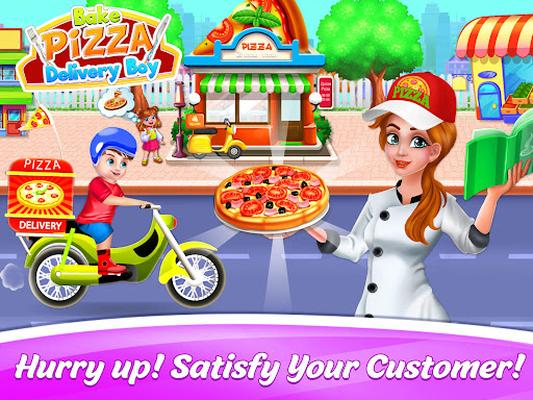 Image 12 of Bake Pizza Delivery Boy: Pizza Maker Games