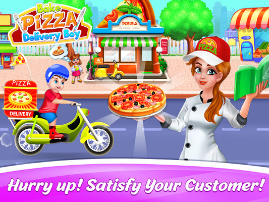 Image 13 of Bake Pizza Delivery Boy: Pizza Games