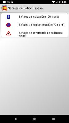 Image of Traffic signs Spain