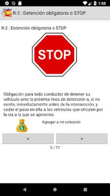 Image 2 of Traffic signs Spain