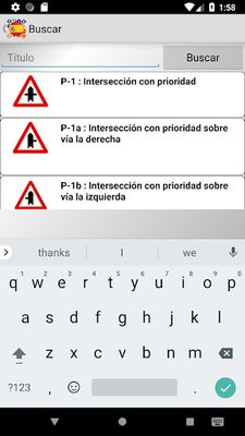 Image 8 of Traffic signs Spain