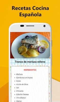 Image 1 of Spanish Food Recipes - Traditional cuisine