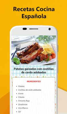 Image 3 of Spanish Food Recipes - Traditional cuisine