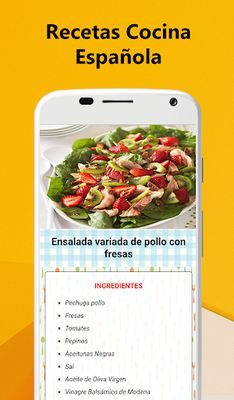 Image 4 of Spanish Food Recipes - Traditional cuisine