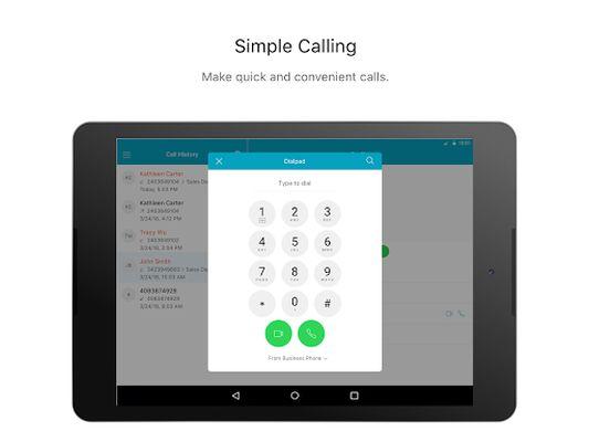 Image 3 of Webex Calling