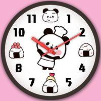 時計ウィジェット「もちもちぱんだ」無料 アイコン