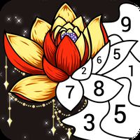 Paintist2020 - Free Coloring Book&Color by Number Icon