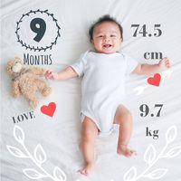 Baby Story Tracker Milestone Sticker Photo Editor 아이콘
