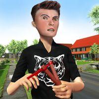 Virtual Neighbor High School Bully Boy Family Game APK Simgesi