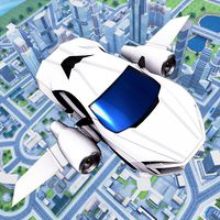 Flying Car Driving 2020 - Ultimate Cars icon