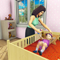 real mãe simulador 3d bebê Cuidado jogos 2020