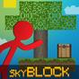 Stickman vs Multicraft: Skyblock Craft