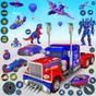 Polis kamyonu robot oyunu - Robot oyunlarını