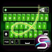 Ícone do SlideIT Green Neon Skin