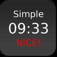 Icoană Nice Simple Clock (Widget)