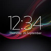 Иконка Digital Clock Widget Xperia