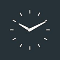 Icoană Clean Clock Widget