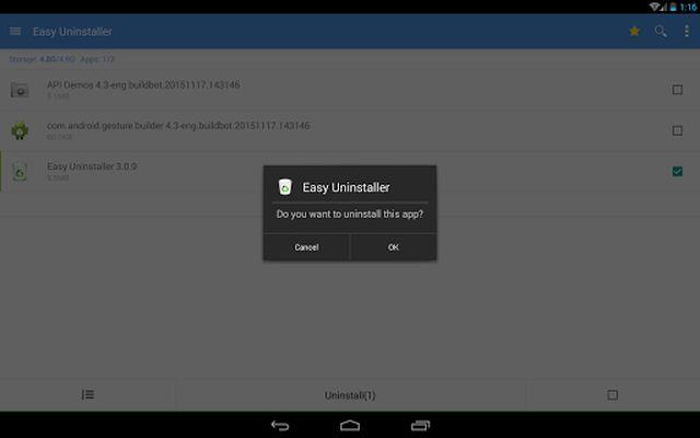 Screenshot 7 of Easy Uninstaller