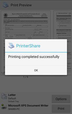 Image 3 of PrinterShare Printing
