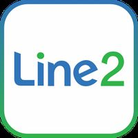 Line2 - Second Phone Number アイコン