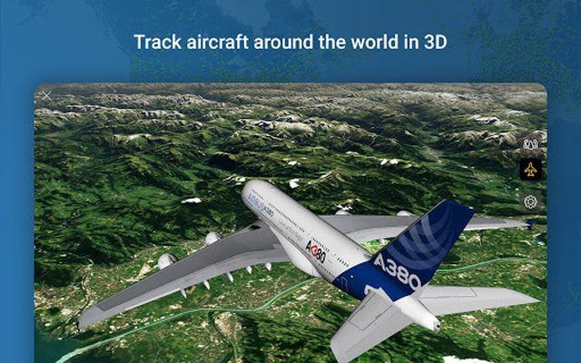 Image from Flightradar24 Flight Tracker