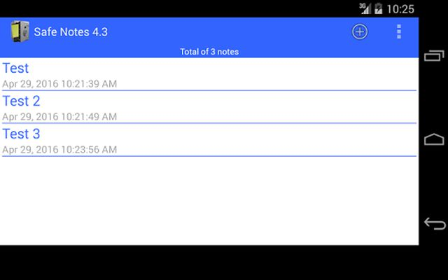 Image 3 of Safe Notes is a secure notepad