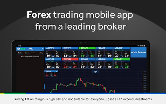 Image 1 of OANDA fxTrade for Android