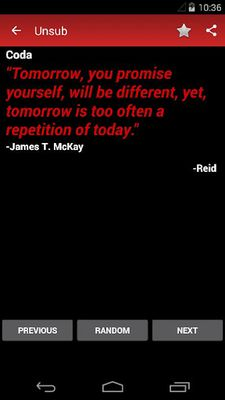 Image 8 of Unsub Quote for Criminal Minds