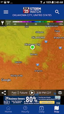 Image from KOKH WX