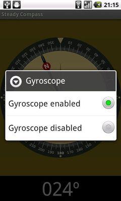 Stabilized compass screenshot apk 1